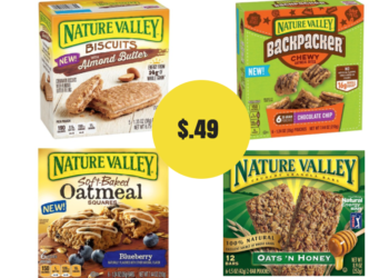 Nature Valley Breakfast Biscuits & Granola Bars as low as $.49 With New Sale and Coupon