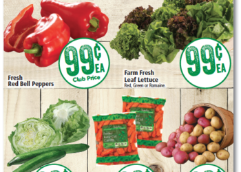 Safeway $.99 or Less Produce Deals – Eggplant, Red Bell Peppers, Grapes and More!