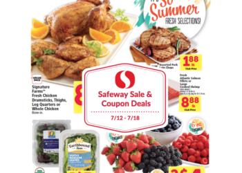 Safeway Sale and Coupon Deals 7/12 – 7/18