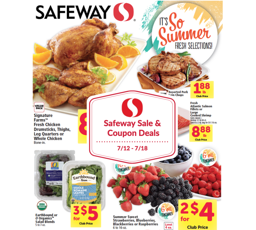 safeway coupon matchups