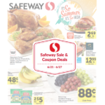 Safeway Sale and Coupon Deals June 21st – June 27th