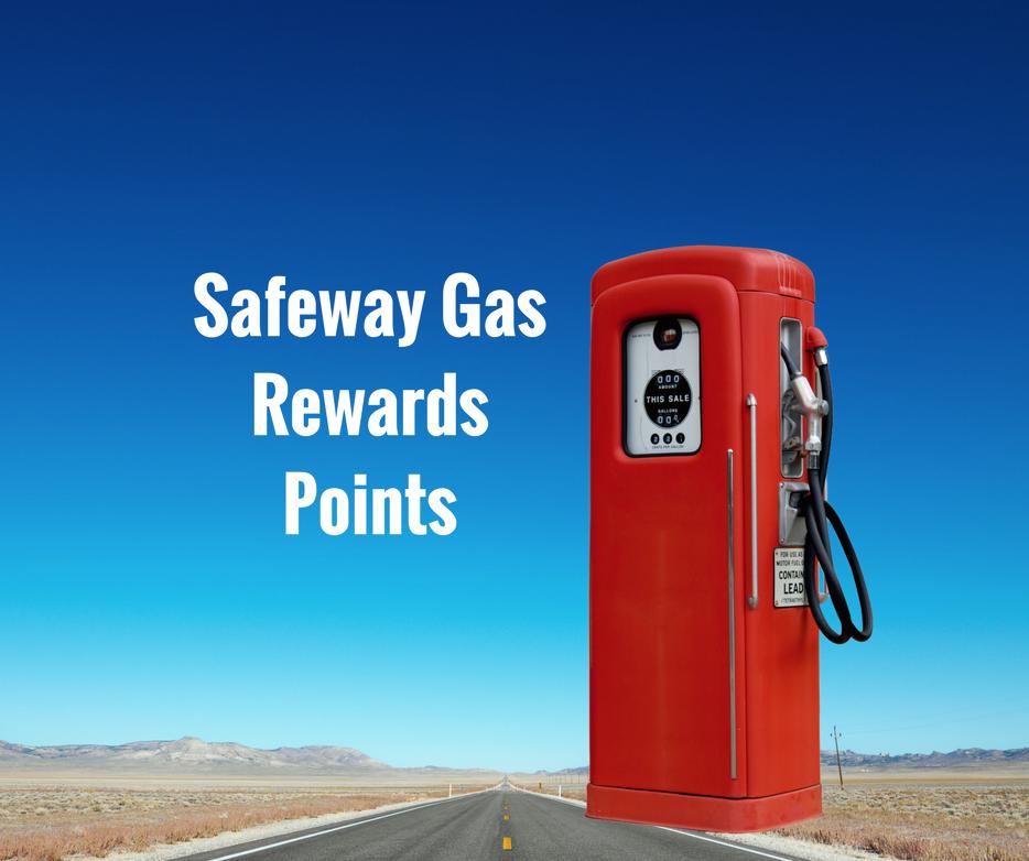 safeway gas reward points