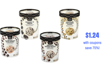 HOT! Get Signature SELECT Ice Cream 1.5 Qt. For Just $1.24 With New Coupons