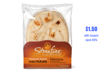 Stonefire Naan Bread Just $1.50 With Coupons