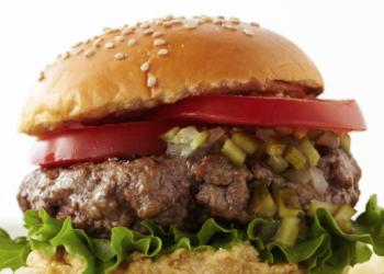 Tangy Mustard Burger