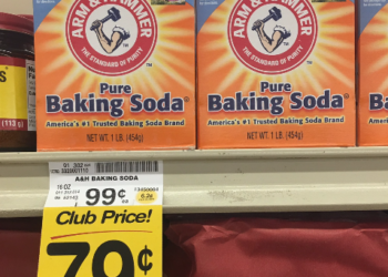 Arm & Hammer Baking Soda Coupon, Only $0.29