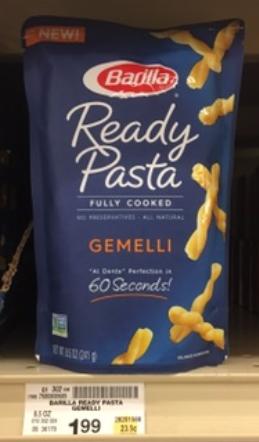 Barilla Ready Made Pasta