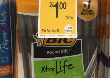 NEW BIC Coupon – Score 20 FREE Pens at Safeway