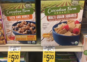 Organic Cascadian Farm Cereal Coupon, Only $1.50