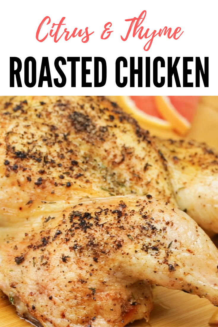 Citrus & Thyme_Roasted_Chicken