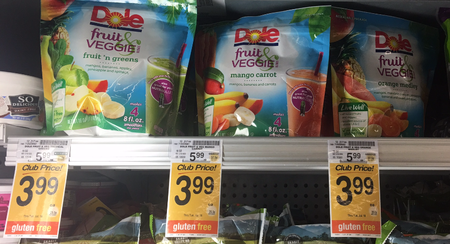 Dole Fruit & Veggie Blends