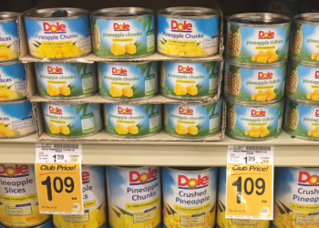 Dole Pineapple Coupon, Pay $0.59 a Can