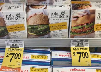 Dr. Praeger's Coupon, Pay $2.50 – $0.63 a Burger