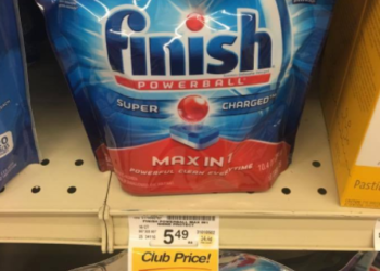 Finish Coupons, Only $2.99 for Detergent and Jet Dry Rinse