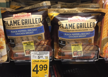 Johnsonville Coupon, Pay as Low as $2.49 for Flame Grilled Chicken and Get FREE Taylor Farms Salad