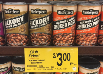 KC Masterpiece Beans Coupon, Pay $0.50 For a 28 Ounce Can