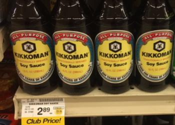 Kikkoman Soy Sauce For as Low as $0.50 – Yes, 2 Quarters