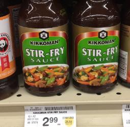 Kikkoman Stir-Fry Sauce Deal – Pay as Low as $0.95