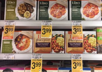 Luvo Frozen Entree For as Low as $0.99