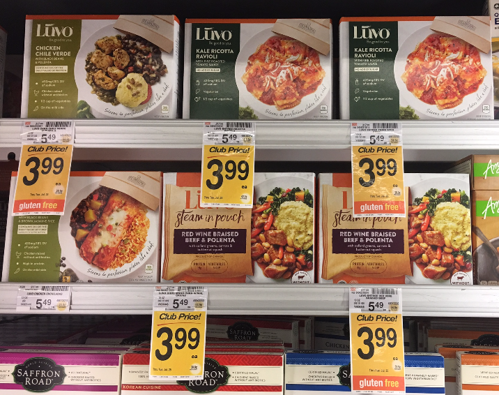 Luvo Frozen Entree