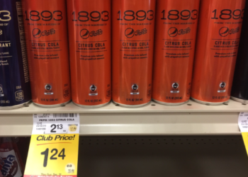 Pepsi 1893 For as Low as $0.74 – Save Up To 65%
