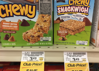 Quaker Chewy Snackwich Bars Just $.74 With Sale and Coupon