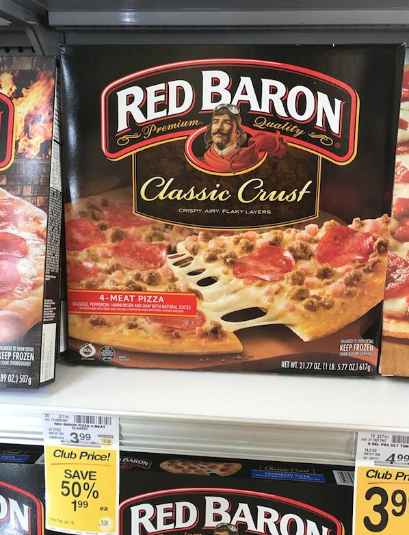 frozen pizza sale