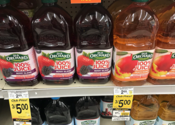 Old Orchard Juices Coupon Stack, Pay Just $.75 for Bottled Juice