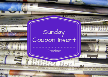 Sunday Coupon Preview 7/30 – FOUR (4) Inserts Available