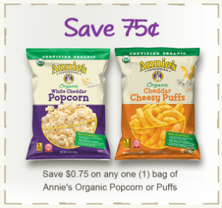 annies popcorn coupon