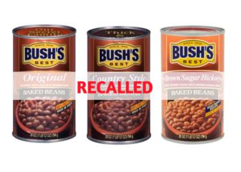 Bush's Baked Beans Recalled