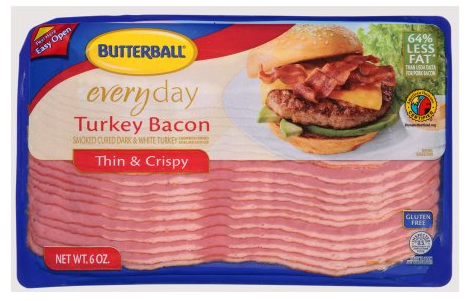 butterball thin & crispy bacon