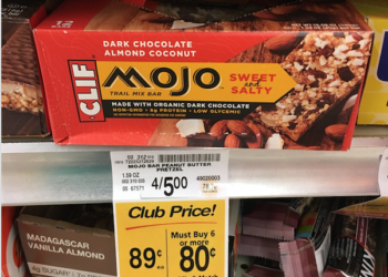Clif Mojo Bars Just $.39 Each at Safeway With Mojo Coupon – Save 74%