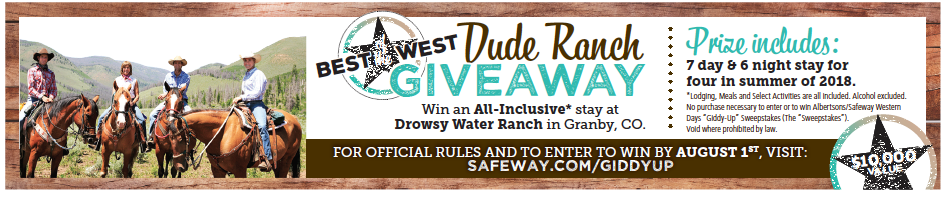 dude ranch giveaway