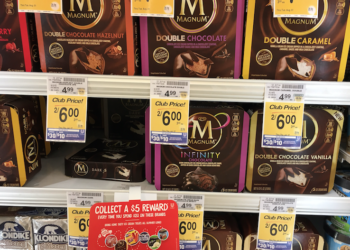 Magnum Ice Cream Bars Just $2.00 with Coupon, Save 60%