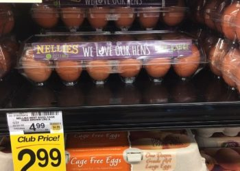 Nellie's Cage Free Eggs Sale and Coupon – Pay just $1.99 for Cage Free Eggs