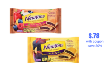 Nabisco Newtons as low as $.78 Each Package