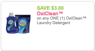 oxi clean detergent coupon