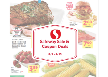 Safeway Sale and Coupon Deals August 9th – 15th