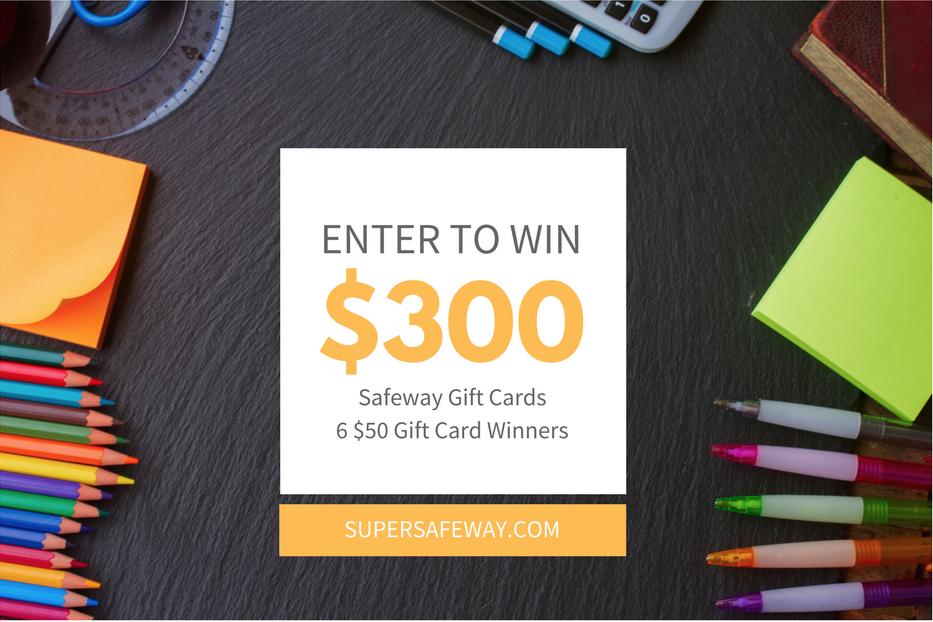 safeway gift card contest