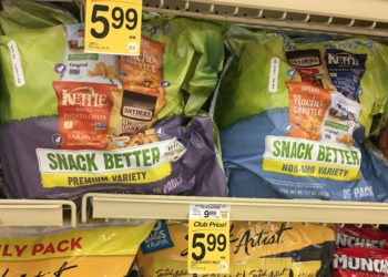 Snyder's Snack Packs 16 ct. Just $4.99 With Coupon, Save 50%