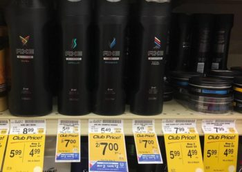NEW Axe Coupon – Pay as Low as $1.50 for Shampoo and Conditioner