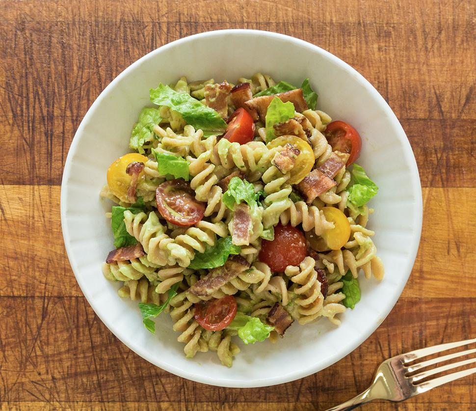 BLTA Pasta Salad