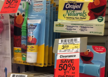 Baby Orajel Coupon – Pay as Low as $0.79