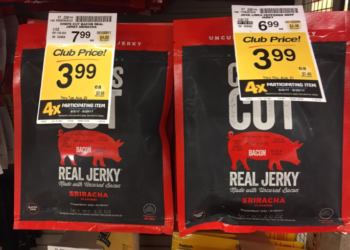 Chef's Cut Jerky For as Low as $3.49
