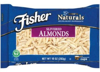 Fisher Chef's Naturals Almonds For as Low as $3.99