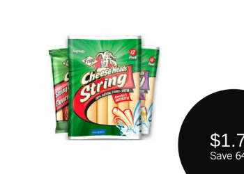 Frigo Coupons, Only $1.74 for Cheese Head or Variety String Cheese