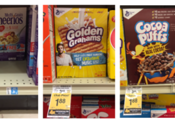 General Mills Cereal Deal – Pay as Low as $0.88