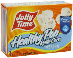 Jolly Time Coupons, Only $0.50 for a 3 Pack – $0.17 a Bag