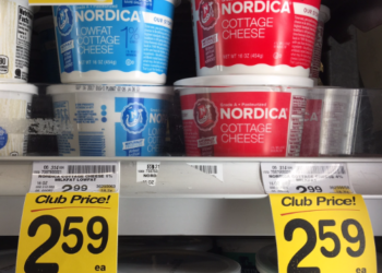 Nordica Cottage Cheese For as Low as $1.34
